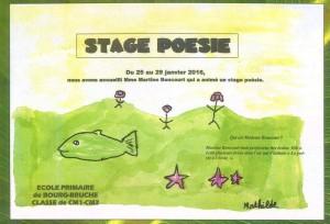 Stage poésie Bourg-Bruche 1